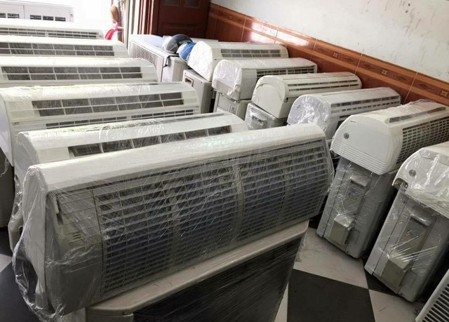 Điều hoà Nhật bãi cũng đang khá hot trên thị trường