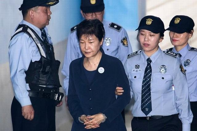 Cựu Tổng thống Park Geun-hye (Ảnh: Reuters)