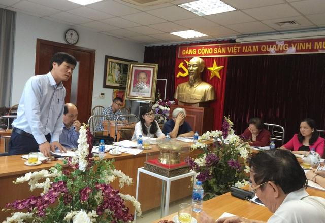 Ông Vũ Việt Dũng - Cục Văn hóa cơ sở, Bộ Văn hóa Thể thao và Du lịch phát biểu.