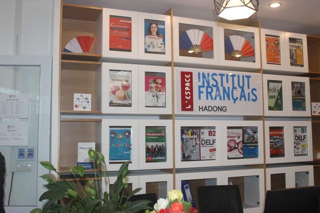 Một góc của Viện Pháp chi nhánh Hà Đông.