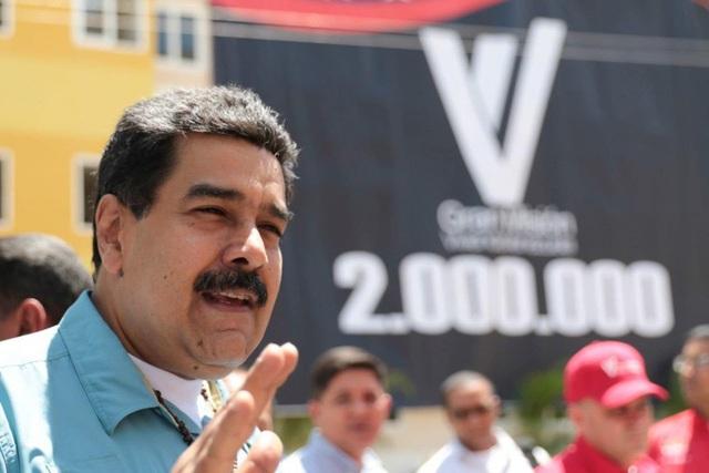 Tổng thống Venezuela, ông Nicolás Maduro chế giễu việc nhiều người dân bỏ đất nước ra đi và bị họ đồng loạt phản pháo lại. (Nguồn: TWP)