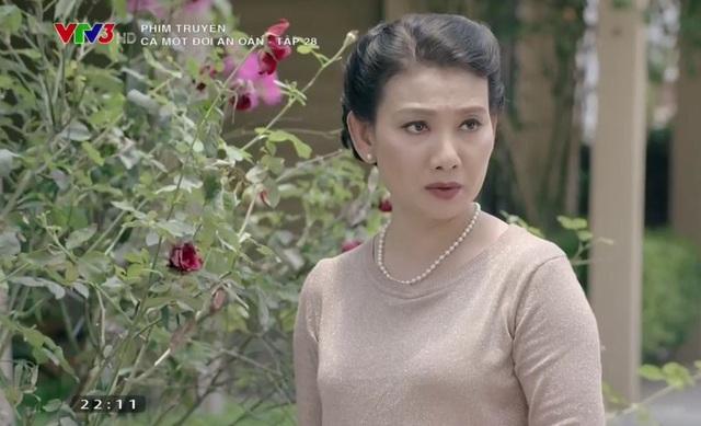 Mỹ Uyên nhiều khi cảm thấy khó chịu khi vào vai bà Lan trong phần 1 của Cả một đời ân oán.