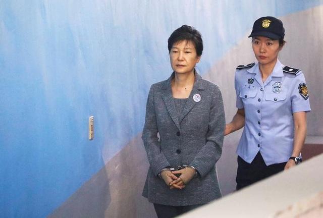 Cựu Tổng thống Hàn Quốc Park Geun-hye (Ảnh: Reuters)