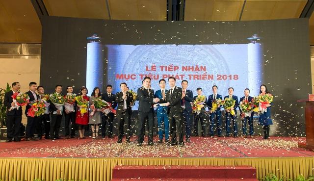 Lễ tiếp nhận mục tiêu phát triển 2018 của Hải Phát Land.