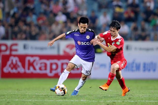 CLB Hà Nội và HA Gia Lai sẽ tái ngộ ở tứ kết cúp quốc gia (ảnh: Gia Hưng)