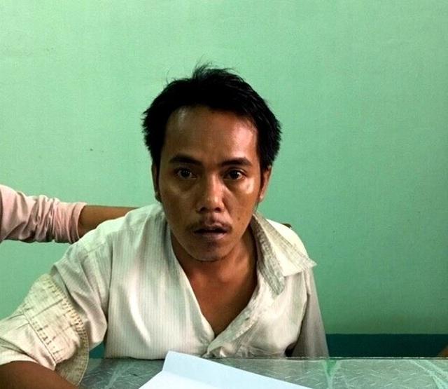 Nguyễn Ngọc Huynh lúc bị bắt