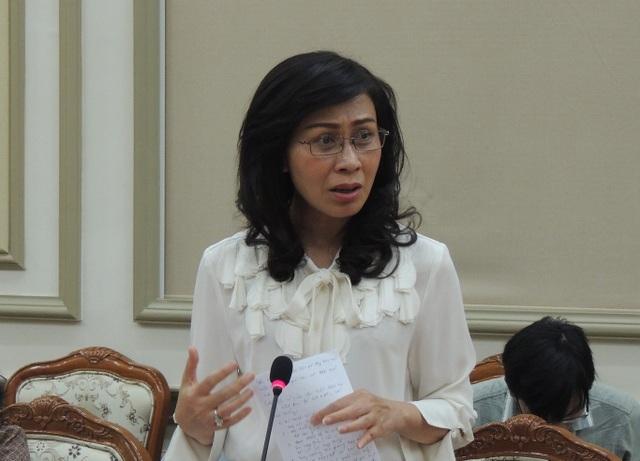 Bà Nguyễn Thị Thu, Phó Chủ tịch UBND TPHCM đề nghị Sở GD-ĐT không được né tránh, phải có tiếng nói, thể hiện trách nhiệm trong sự việc cô giáo lên lớp không giảng bài