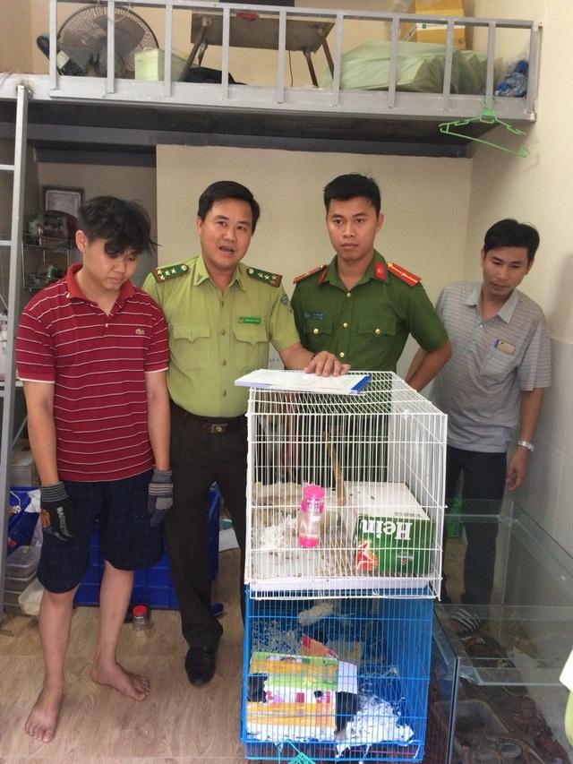 Cơ quan chức năng xử phạt anh Nguyễn Chí Linh 6 triệu đồng vì hành vi mua bán động vật rừng