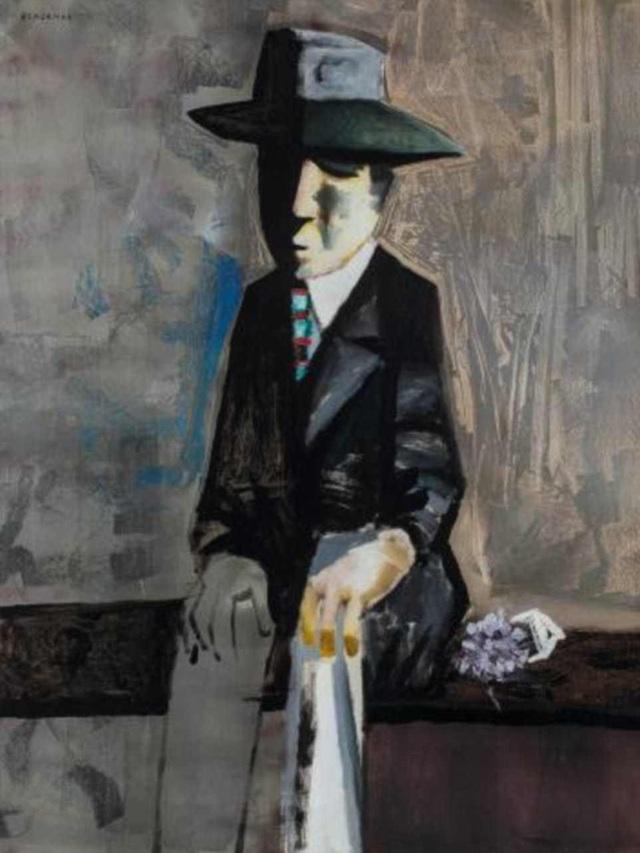 """Món đồ đắt giá nhất được bán ra là bức tranh """"The Suitor"""" được thực hiện bởi họa sĩ đương đại người Úc Charles Blackman hồi năm 1960. Tranh được mua với giá 360.000 USD."""
