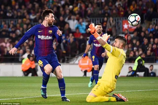 Messi tỏa sáng rực rỡ với cú hattrick vào lưới Leganes