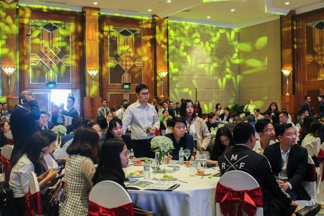 Lễ giới thiệu dự án Khai Sơn Town thu hút sự quan tâm của nhiều khách hàng