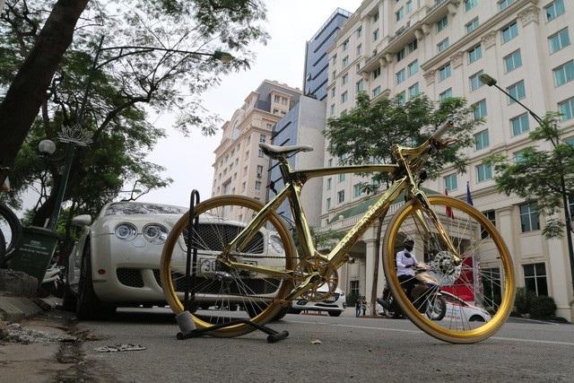 Ngoài chất liệu mạ vàng, linh kiện cao cấp, theo nhiều người, sở dĩ chiếc xe có giá đắt đỏ còn do đây là phiên bản giới hạn, việc nhập khẩu về Việt Nam cũng mất nhiều thời gian, công sức.