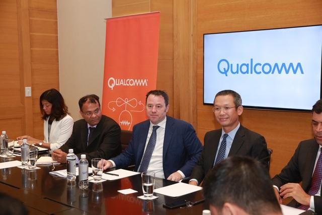 Đại diện Qualcomm cho rằng ở thời điểm này, việc trao đổi về tần số cho 5G là vấn đề quan trọng đối với Việt Nam.