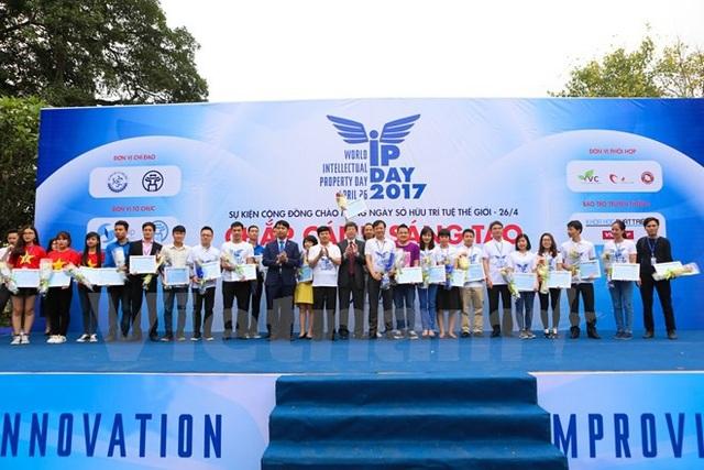 Năm 2017, sự kiện IP Day đã thu hút hàng nghìn người tham gia.