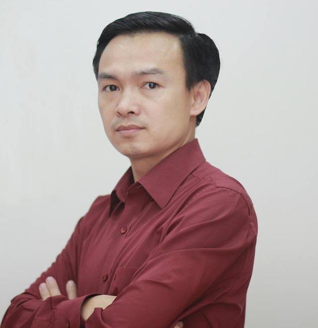 Thầy Trần Mạnh Tùng (GV Toán, Trường THPT Lương Thế Vinh, Hà Nội) - tác giả bài viết.