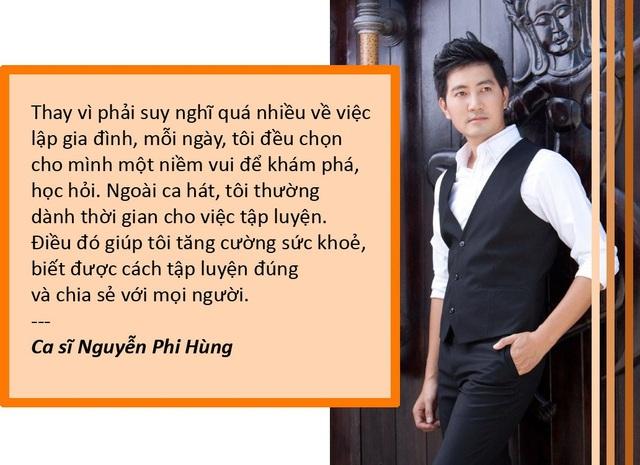 Xem thêm: Vì sao đã 40 tuổi ca sĩ Nguyễn Phi Hùng vẫn chưa chịu lấy vợ?
