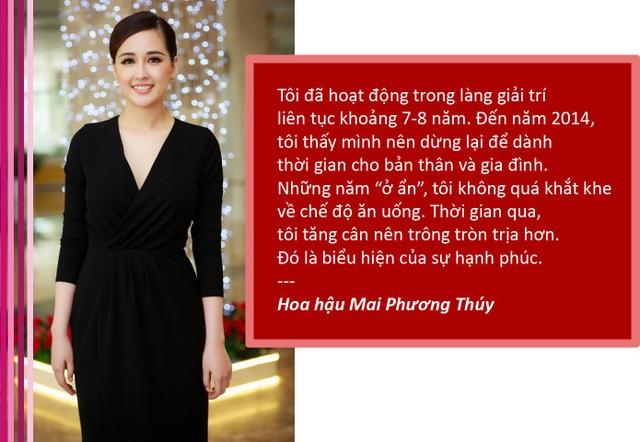 Xem thêm: Hoa hậu Mai Phương Thuý lần đầu lên tiếng về tin đồn lấy chồng, sinh con