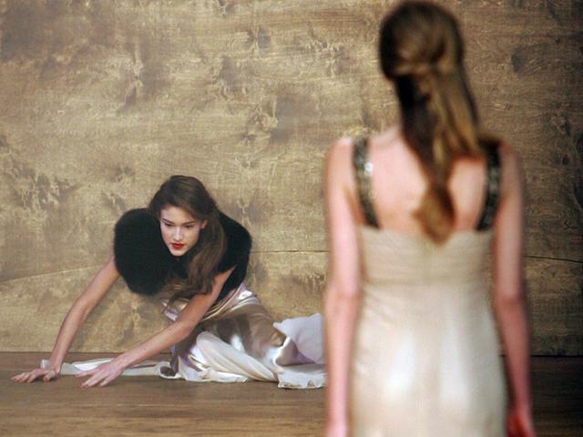 Tại Tuần lễ Thời trang London 2006.