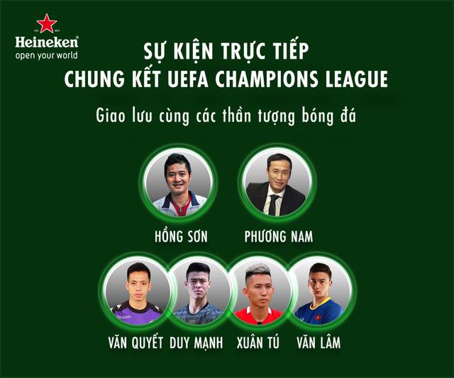 Cùng Heineken chia sẻ khoảnh khắc kịch tính chờ đón đại tiệc chung kết Champions League - 3
