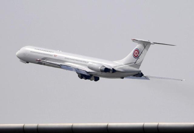 Chuyên cơ Il-62M hay còn gọi là Chammae-1 mà ông Kim Jong-un dùng khi công du Trung Quốc. (Ảnh: Reuters)