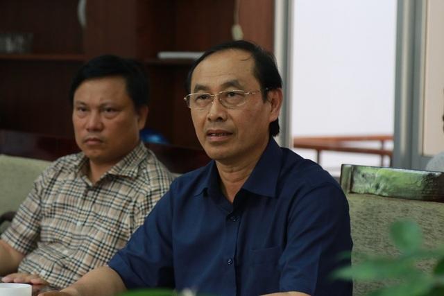 Thứ trưởng Bộ GTVT Lê Đình Thọ tại buổi làm việc
