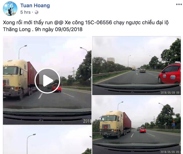Tài khoản Tuan Hoang đã đăng lên mạng xã hội clip về sự việc kinh hoàng này.
