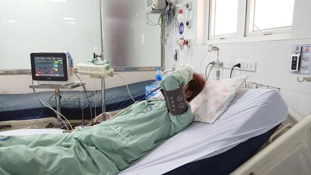 Bệnh nhân đã ổn định hơn sau khi được điều trị.