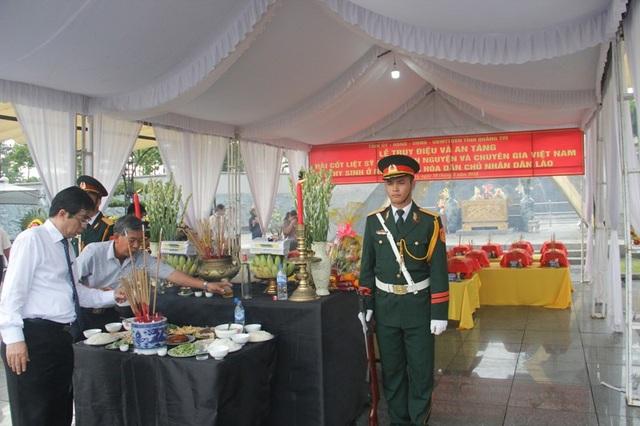 Quảng Trị: Long trọng tổ chức Lễ truy điệu các liệt sĩ hy sinh tại Lào - 4