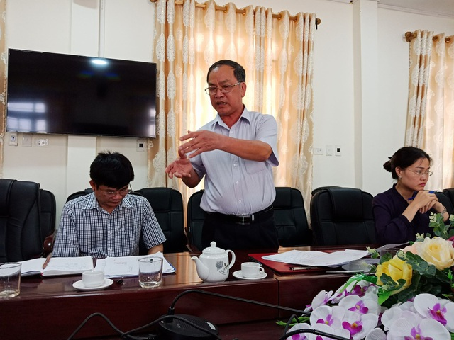 Phó Chủ tịch Lê Văn Thao cho rằng, việc để xảy ra sai phạm thuộc trách nhiệm của xã.