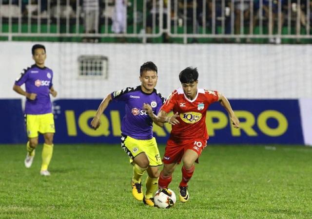 Công Phượng và Quang Hải cùng ghi bàn trong trận đấu này