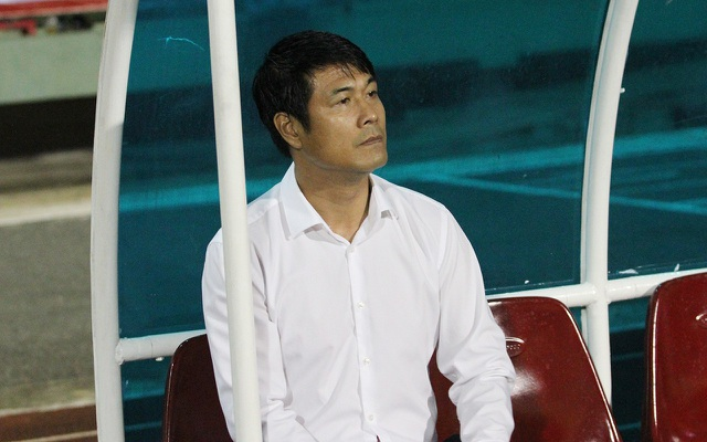 HLV Nguyễn Hữu Thắng trở thành chủ tịch CLB TPHCM (ảnh: Trọng Vũ)
