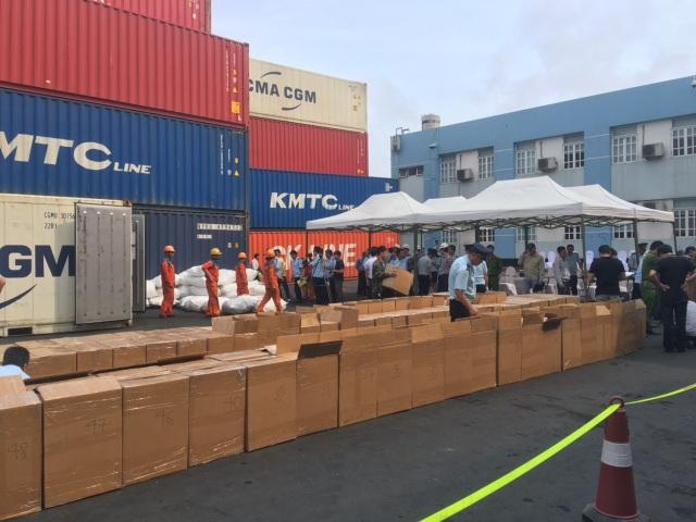 Phát hiện 2 tấn lá Khát nhập lậu vào Việt Nam qua cảng