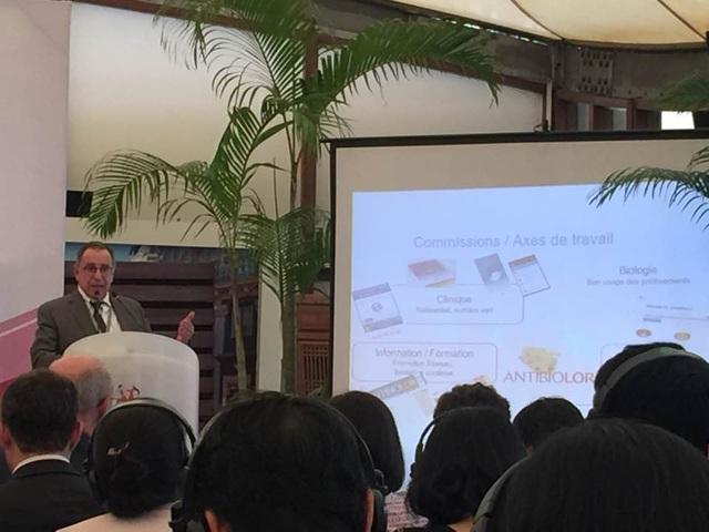 BS. Jan-Elie Malkin, Tư vấn quốc tế về bệnh truyền nhiễm và y tế công