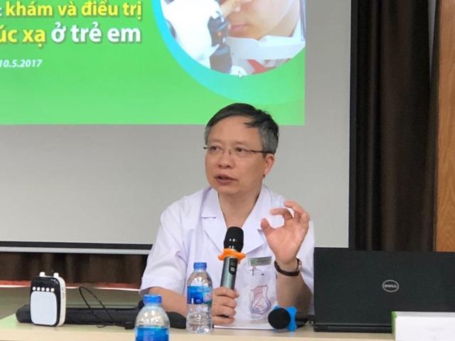 PGS.TS Nguyễn Đức Anh. Ảnh: H.Hải