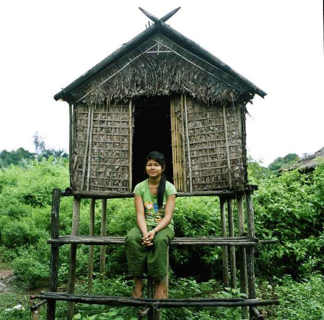 Một căn chòi tình yêu ở bộ lạc Kreung