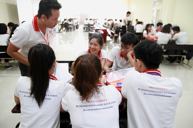 """""""Business Innovation Hackathon"""" là hoạt động lần đầu tiên được tổ chức tại Đại học Huế"""