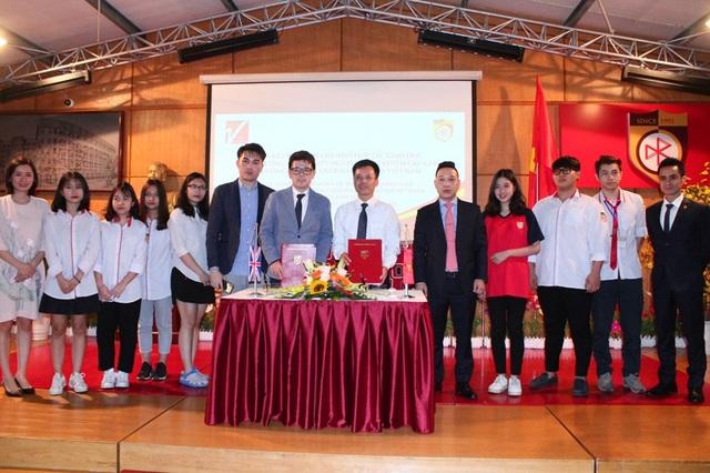 Hợp tác giữa hai bên nhằm tạo cơ hội và tư vấn cho học sinh THCS&THPT Nguyễn Bỉnh Khiêm du học tại các trường đại học, cao đẳng uy tín tại nước Anh.