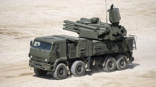 Tổ hợp phòng không Pantsir-S1 (Ảnh: RT)