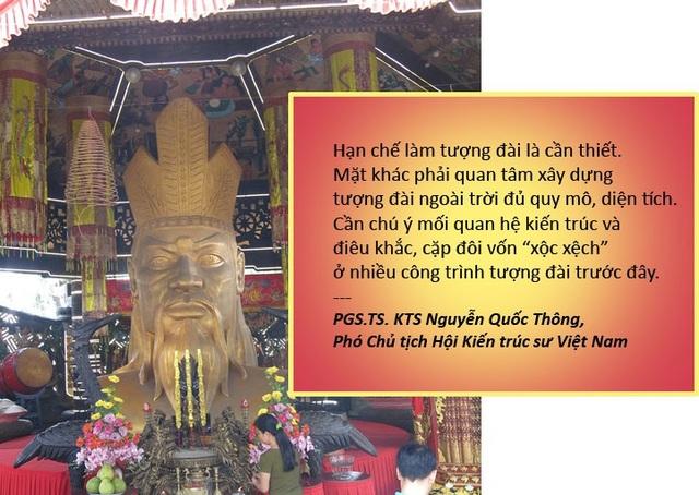 Xem thêm: Chưa nhận diện được Vua Hùng, sao xây tượng đài tràn lan?