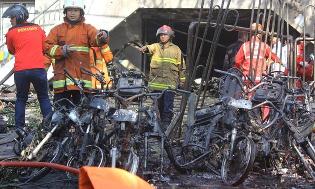 Giới chức Indonesia cho biết họ đã kịp thời chặn đứng một vụ tấn công khác nhằm vào nhà thờ thứ 4. (Ảnh: Reuters)