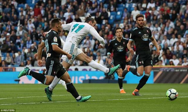 Bale tỏa sáng với cú đúp vào lưới Celta Vigo
