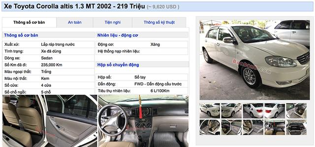 200 triệu đồng có thể mua xe cũ loại nào? - 2