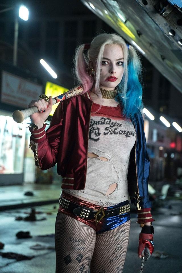 """Margot Robbie từng gây ấn tượng với vai diễn Harley Quinn trong phim """"Suicide Squad"""" (Biệt đội cảm tử - 2016)"""