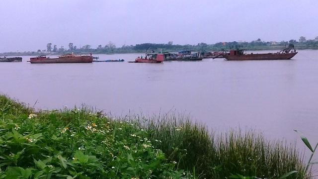 Lực lượng chức năng tỉnh Thái Bình sẽ truy bắt cát tặc trên sông Hồng đoạn chảy qua xã Vũ Tiến, huyện Vũ Thư