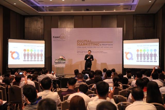 Sự kiện đào tạo Expert Talk của Batdongsan.com.vn thu hút nhiều sự quan tâm của các chuyên gia, nhà môi giới, kinh doanh trong lĩnh vực BĐS.