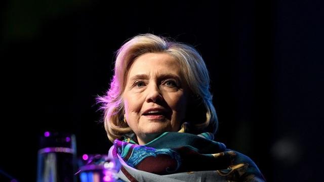 Cựu Ngoại trưởng Mỹ Hillary Clinton (Ảnh: EPA)