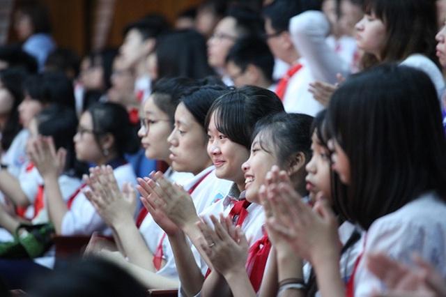 Chương trình là ngày hội của các đội viên Đội TNTP Hồ Chí Minh Thủ đô