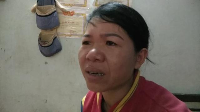 Nước mắt người mẹ khi nhìn đứa con mình có thể mất mạng bất cứ lúc nào