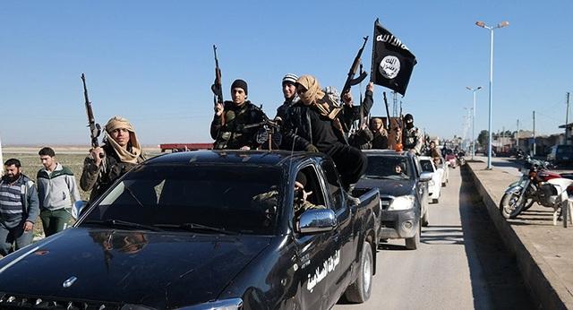 IS đang bị đẩy lùi khỏi Syria. (Ảnh minh họa: AP)