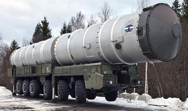 Hệ thống phòng thủ tên lửa A-235 Nudol của Nga có khả năng bắn rơi vệ tinh Ảnh: PRESS PHOTO